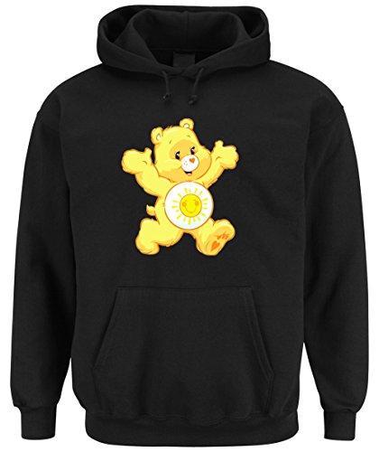 Sunny Bear Hooded-Sweater Black Certified Freak-XXL