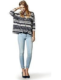 Salsa - Jeans Push Up Wonder skinny et délavage clair - Femme