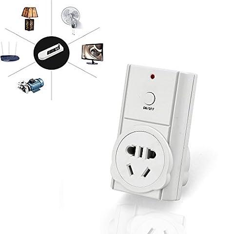 SinHan 2017 News Commande à distance sans fil Commutateur de sortie électrique pour appareils ménagers, télécommande sans fil Commutateur de sortie électrique, prise
