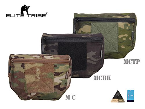 Softair Weste Hunting Pouch Tactical Armor Carrier Drop Pouch AVS JPC CPC Multicam Tropic