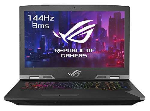 "Asus ROG GRIFFIN-GZ755GXR-EV014T PC Portable Gamer 17.3"" FHD Dalle 144Hz (Intel Core i7-9750H, RAM 32Go DDR4, HDD1 1TB5 SS8G + 512G PCIE, Nvidia RTX 2080 8G, Windows 10) Clavier AZERTY Français"