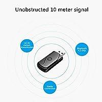 Bluetooth-Übermittler-beweglicher drahtloser Bluetooth 4.2 Adapter-Stereoaudio-Übermittler Desktop zum Bluetooth-Kopfhörer-Audioübermittler Drahtloser empfangender Adapter für Fernsehapparat IPod MP3