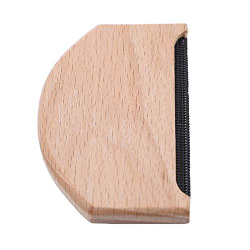 LJSLYJ Holz Stoff Kleidung Pullover Fusselentferner Manuelle Tragbare Lint Comb Garment Care