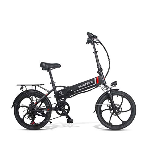Adolenb E-Bike Klapprad 20 Zoll Elektrofahrrad klappfahrrad 48V 8Ah Lithium-Batterie, Leicht und Praktisch