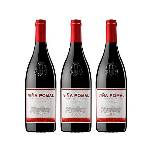 Viña Pomal | Vino Tinto Reserva Viña Pomal | Bilbaínas | D.O.Ca. Rioja | Caja De 3 Botellas De 75 Cl