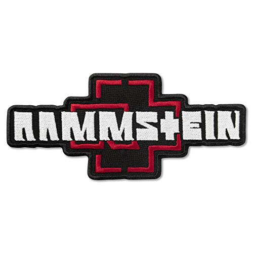 Rammstein Logo Music Rock Band parche bordado