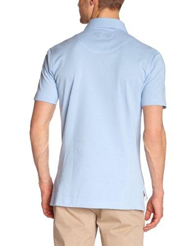 Fernand Bachmann Herren Polo Shirt  ,Uni Blau (Ciel)