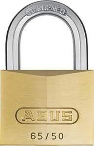 Abus - 65/50 50mm Cadenas en laiton Keyed Alike 6504 - ABUKA12003