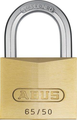 ABUS 12003 - Candado de latón (con llave maestra 6504)
