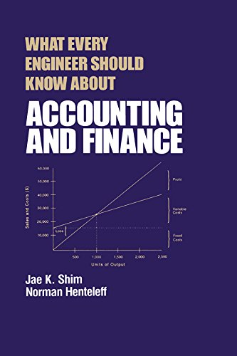 What Every Engineer Should Know about Accounting and Finance (English Edition) -