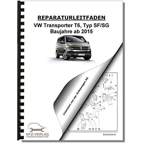 VW Transporter T6 (15>) Karosserie-Instandsetzung, Unfall - Reparaturanleitung
