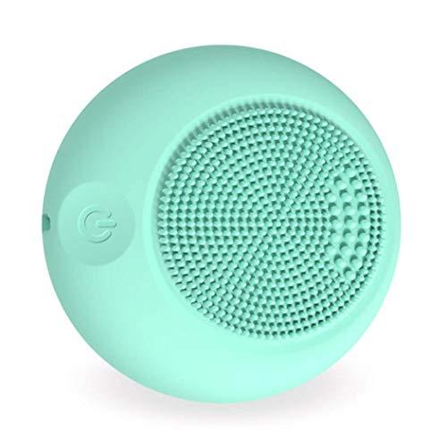 GGPUS Gesichtsreinigungsbürste, wasserfeste Gesichtsreinigungsbürste, Akne-Mitesser-Entfernungsbürste, Peeling und Massage (Lanyard Habe)
