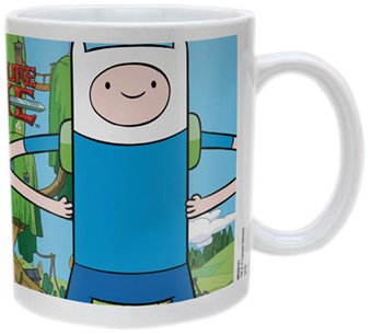Adventure Time MG22141 - Taza de cerámica, diseño de Jake y Finn - T