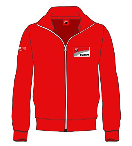 sweat-zippe-officiel-ducati-corse-rouge-taille-xl