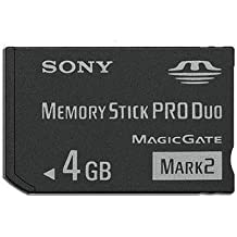 New 4gb 4g Ms Memory Stick Pro Duo Card For Sony Psp Camera One Year Warranty