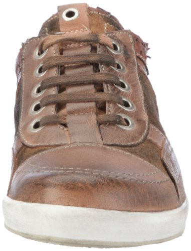 Manas oasi uomo 121D2502SSFK, Chaussures basses homme TR-B1-Marron-144