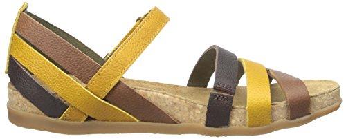 EL NATURALISTA NF42 Zumaia grains jaunes multicolores de maïs sandales femme larme Corn Mixte