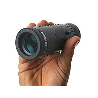 Authentic ROXANT Grip Scope - High Definition WIDE VIEW Monocular With Retractable Eyepiece and Fully Multi Coated Optical Glass Lens + BAK4 Prism. Comes With Cleaning Cloth, Case & Neck strap.