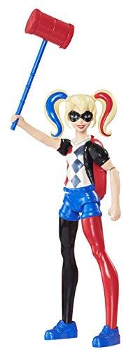 Mattel - DVG66 - DC Super Hero Girls - Harley Quinn - 15cm Actionfigur und Zubehör