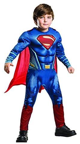 Rubie's Official Dc Comics Warner Bros Dawn of Justice Deluxe Superman, Child Costume - Medium