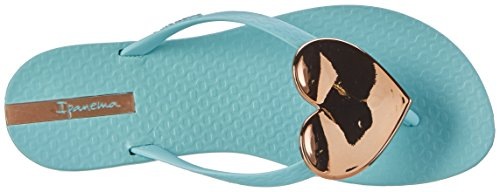 Ipanema Maxi Fashion Ii Fem, Tongs Femme Mehrfarbig (green/gold)