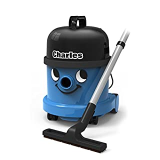 Henry Charles/CVC 370-2/824615 Wet and Dry Vacuum Cleaner, 15 Litre, 1060 W, Blue