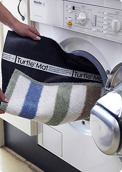 Wipe Your Paws Turtle mat cotton design 60 X 85cm 2