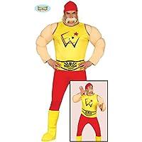 Wrestling Ringer Kostüm für Herren Wrestler Herrenkostüm Ringkämpfer Kämpfer Gr. M/L