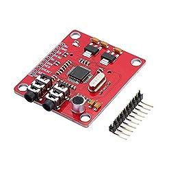 BIYI WAVGAT VS1053 MP3-Erweiterungsplatine Modul UNO Breakout Board Mit SD-Kartensteckplatz Ogg Echtzeit-Aufnahme Rot