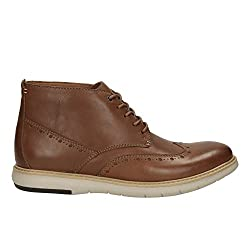 Clarks Mens Flexton Mid Beige Boots - 9 UK/India (43 EU)