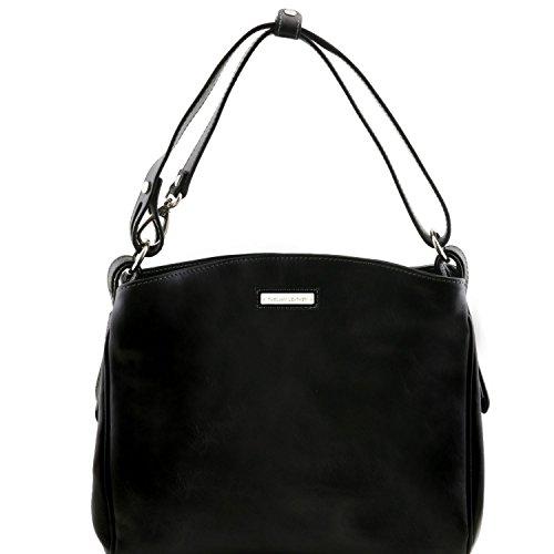 Tuscany Leather Sara - Borsa a tracolla in pelle - TL141474 (Nero) Nero