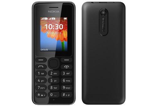 Handy Nokia 108 DS schwarz