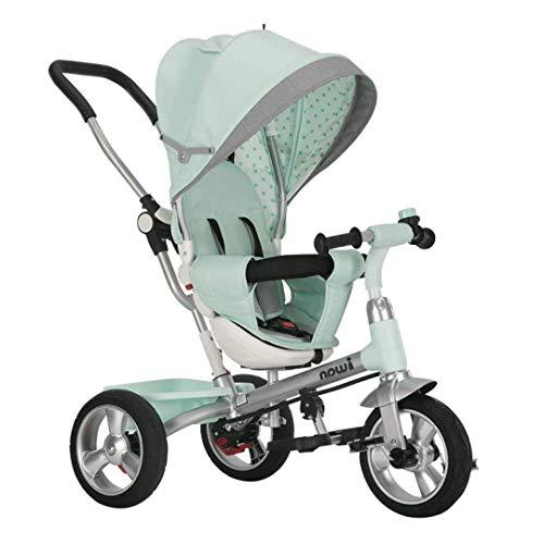 Royala Balance Trikes Für Kleinkinder Fahrrad Mit Griff 360 ° Fahrräder Sitze Für Kinder Und Einstellbare Eltern Lenker Für Jungen Mädchen 1-5 Jahre Alt,Green