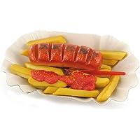 """Odenwälder Marzipan """"Feine Currywurst mit Pommes"""""""