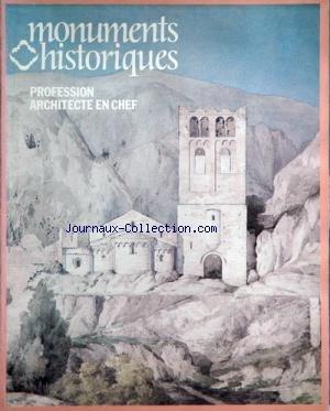 MONUMENTS HISTORIQUES [No 113] du 01/01/1981