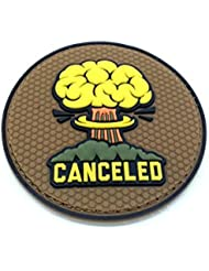 canceled PVC Airsoft Velcro Patch