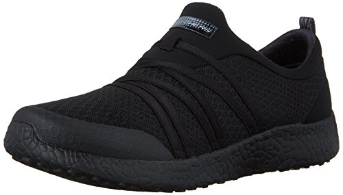 Skechers Sport Burst Very Daring Ladies Athletic Shoes, Color- Black, Color- black,...