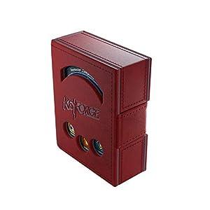 GAMEGEN!C- Keyforge Red Deck Book, Color Rojo (GGS20004)