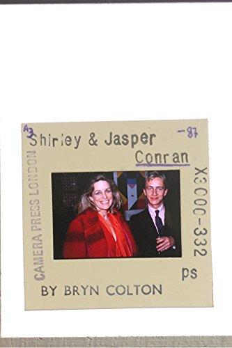 slides-photo-of-a-photograph-of-designer-jasper-conran-and-his-mother-shirley-conran