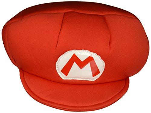 (Unbekannt Super Mario 13369–Mütze Mario für Kinder, Rot, Einheitsgröße)