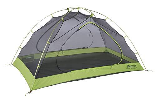 Marmot Crane Creek 2-Personen-Rucksack- und Campingzelt, Ultraleicht, Macaw-Grün/Krokodil -