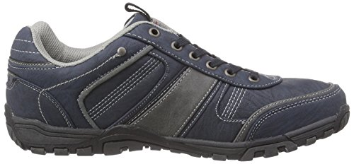 Dockers by Gerli 37AO001-600602 Herren Sneakers Blau (blau/grau 602)