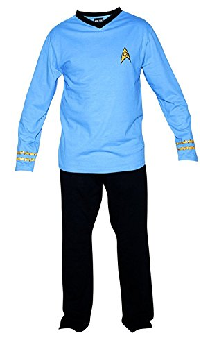 maikeerRobe Factory Men's Star Trek Red Scotty Pajama Set