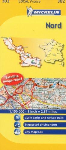 Nord Michelin Local Map 302 (Michelin Local Maps)