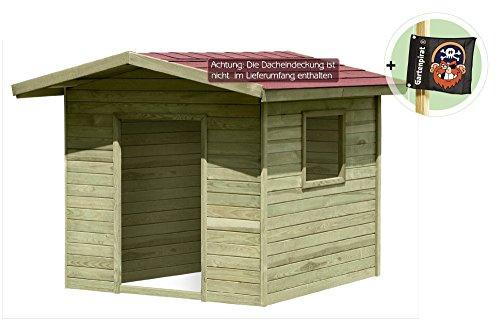 Gartenpirat Spielhaus Lilli aus Holz