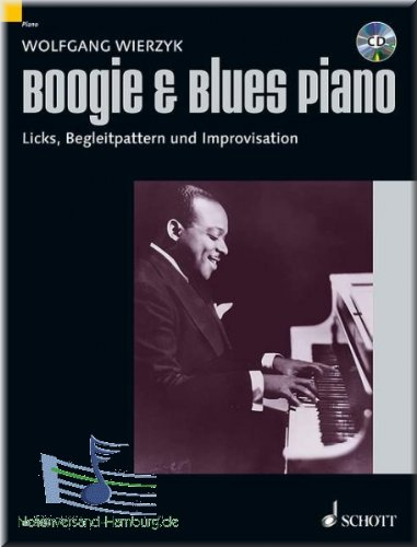 Boogie & Blues Piano - Klaviernoten [Musiknoten] (Die Drum-beats Auf)