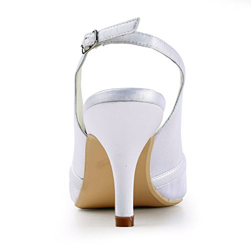 White Minitoo femme Escarpins pour Heel 7cm RR7FBwAq