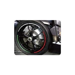 KEITI Liseret Autocollant de Jante Moto 16' - 18' WS810WRG - L'ITALIEN (courbé)