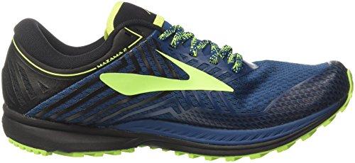Brooks mazama 2, Chaussures de Trail Homme Bleu (Blue/black/nightlife 1d419)