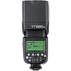 Godox TT685C TTL Appareil Photo Flash Speedlite 2.4G HSS 1/60000 GN60 Compatible pour Canon EOS 5D Mark III 5D Mark II 6D 7D 60D 50D 40D 30D 650D 600D 550D 500D 450D 400D 1100D 1000D